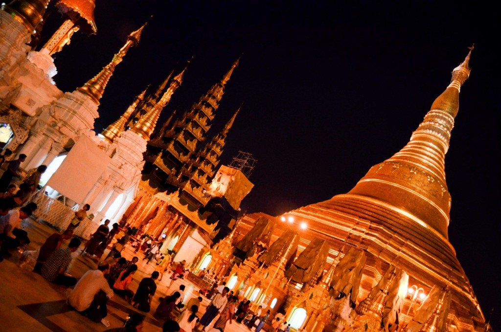 "Many religious sites around the world are touted as the ""most beautiful,"" but Yangon's Shwedagon Pagoda wins all in my mind."